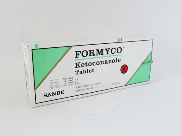 Formyco tablet adalah obat untuk mengatasi infeksi jamur pada kulit dan selaput mukosa