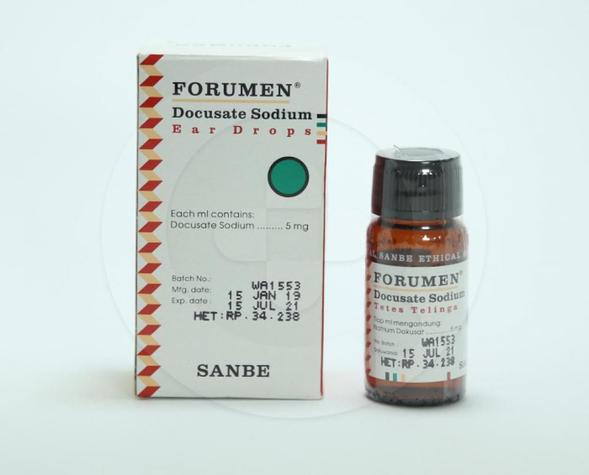 Forumen digunakan untuk mengeluarkan kotoran telinga