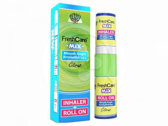 FreshCare Mix 10 ml dapat digunakan untuk melegakan hidung tersumbat dan meringankan sakit kepala, perut kembung, masuk angin, mabuk perjalanan, gejala flu, pegal-pegal dan gatal akibat gigitan serangga.