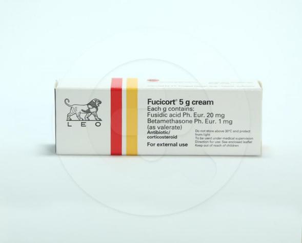 Fucicort adalah obat oles untuk penyakit kulit akibat infeksi bakteri