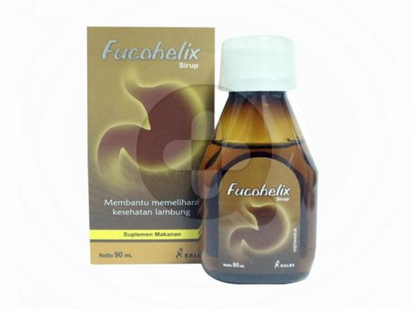 Fucohelix sirup digunakan untuk membantu memelihara kesehatan lambung.