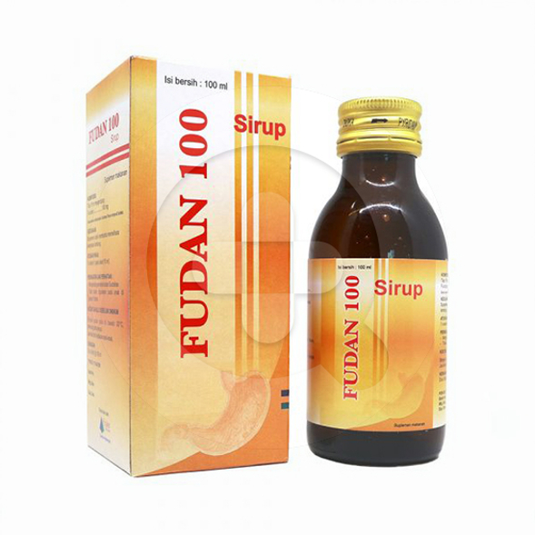Fudan 100 sirup adalah suplemen untuk menjaga kesehatan lambung