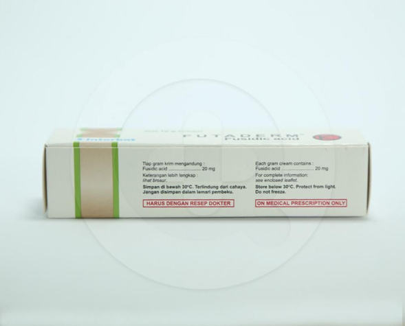 Futaderm krim digunakan untuk mengobati infeksi kulit bakteri