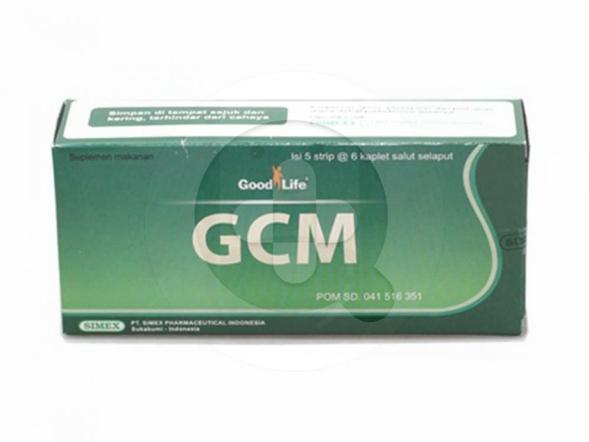 Good Life GCM kaplet digunakan untuk mengobati radang sendi dan memelihara kesehatan sendi.