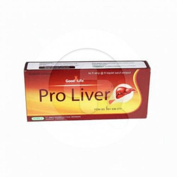 Good Life Proliver kaplet digunakan untuk memelihara kesehatan hati.