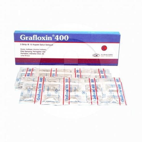 Grafloxin kaplet adalah obat untuk mengatasi berbagai infeksi bakteri.