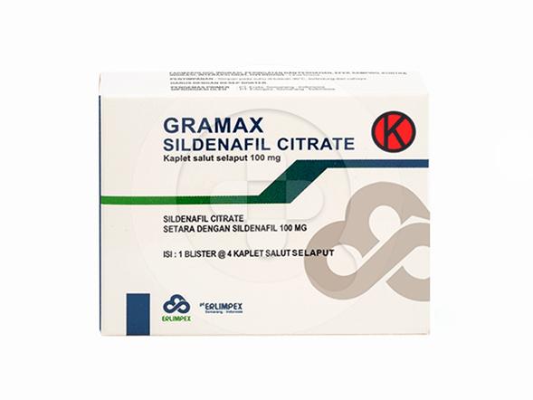 Gramax kaplet adalah obat untuk mengatasi gangguan seksual pada pria seperti disfungsi ereksi.