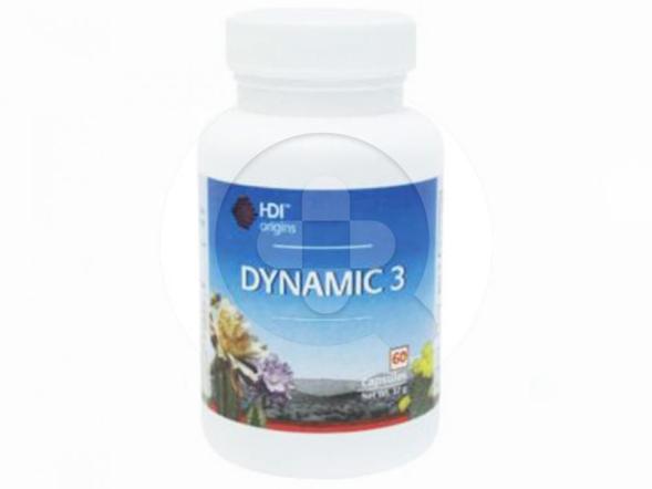 HDI Origins Dynamic 3 kapsul digunakan untuk menjaga sistem imun, meningkatkan stamina dan sebagai antioksidan.