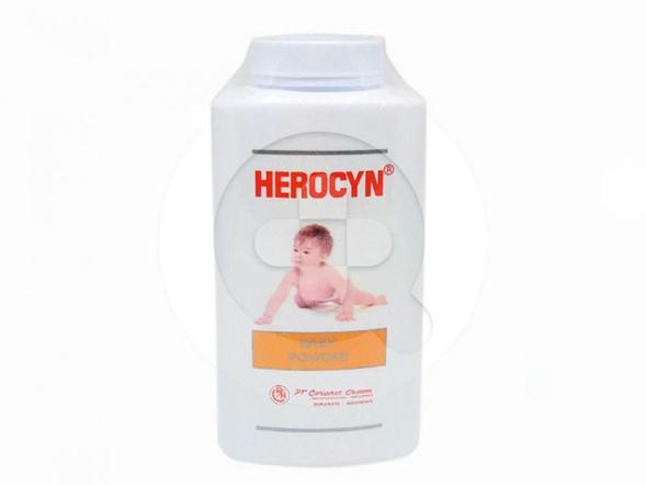 Herocyn Baby Powder merupakan bedak yang digunakan untuk memelihara kulit bayi agar tetap sehat, segar, halus, dan harum.