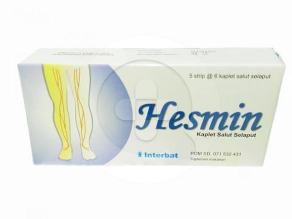 Hesmin kaplet merupakan suplemen untuk meringankan gejala wasir dan varises.