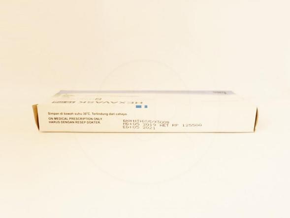 Hexavask tablet 10 mg obat yang digunakan untuk mengobati hipertensi dan angina.