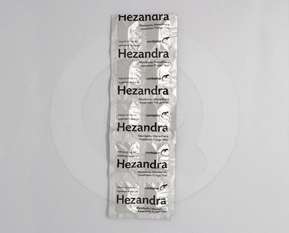 Hezandra dapat membantu memelihara kesehatan fungsi hati