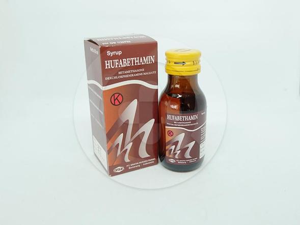 Hufabethamin sirup adalah obat untuk mengobati alergi dan inflamasi