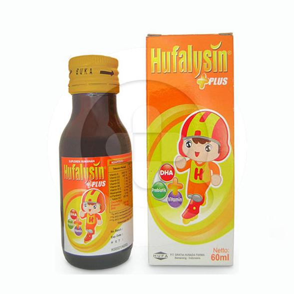 Hufalysin plus sirup adalah suplemen untuk meningkatkan nutrisi otak dan memelihara kesehatan anak.