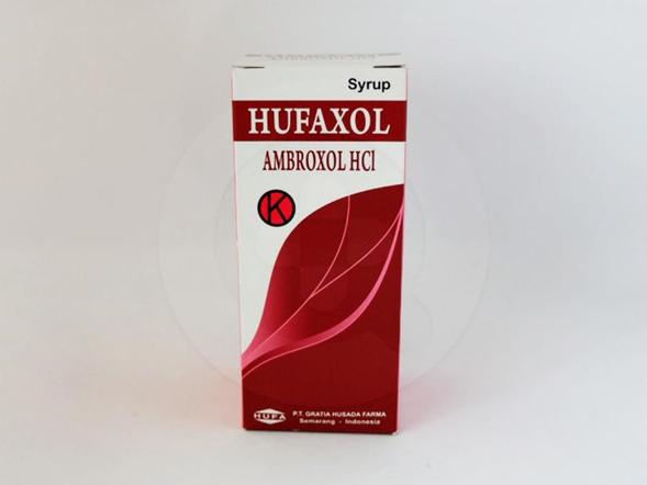 Hufaxol sirup 60 ml adalah obat yang digunakan sebagai sekretolitik pada gangguan saluran nafas akut dan kronis khususnya pada eksaserbasi bronkitis kronis, dan bronkitis asmatik.