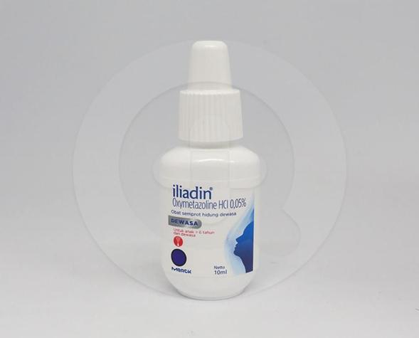 Iliadin semprot hidung 10 ml adalah obat untuk yang dapat meringankan hidung tersumbat karena iritasi selaput lendir hidung (rhinitis) akut, peradangan pada dinding sinus (sinusitis) akut dan kronik, dan rhinitis alergi