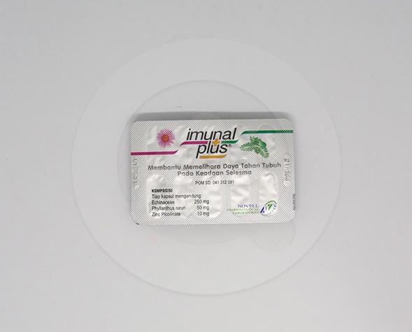 Imunal plus adalah suplemen yang dapat membantu memelihara daya tahan tubuh