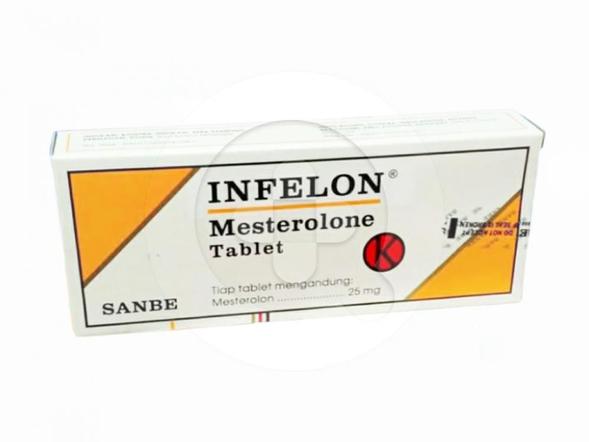 Infelon tablet adalah obat untuk mengatasi kekurangan androgen dan masalah ketidaksuburan pada pria.