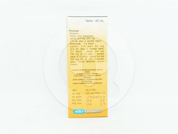 Insic suspensi 60 ml adalah obat untuk menurunkan demam pada anak-anak dan meringankan nyeri ringan sampai sedang.