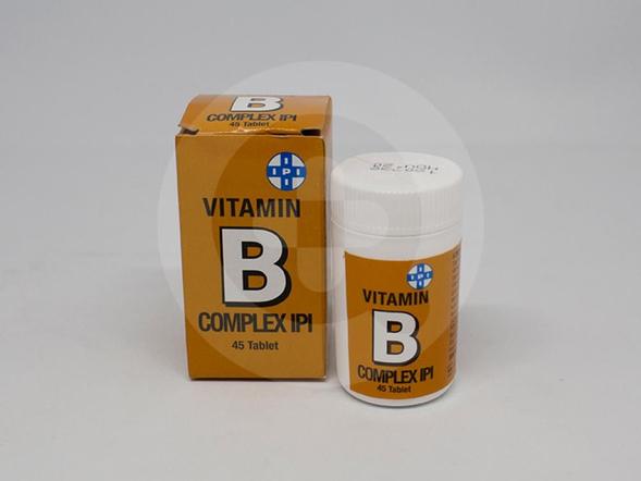 IPI Vit B Complex digunakan untuk pemenuhan vitamin B kompleks