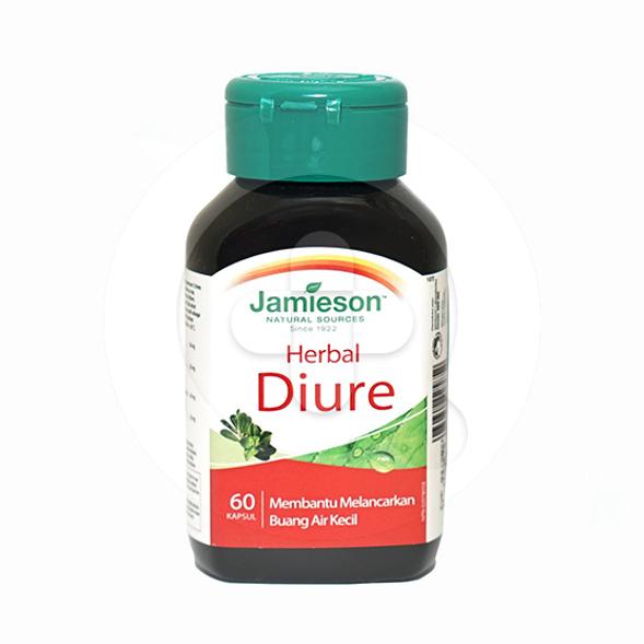 Jamieson Herbal Diure kapsul adalah suplemen untuk mengatasi gangguan saluran pencernaan
