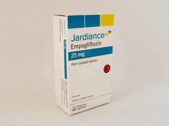 Jardiance tablet 25 mg untuk mengobati diabetes tipe 2 pada pasien dewasa.