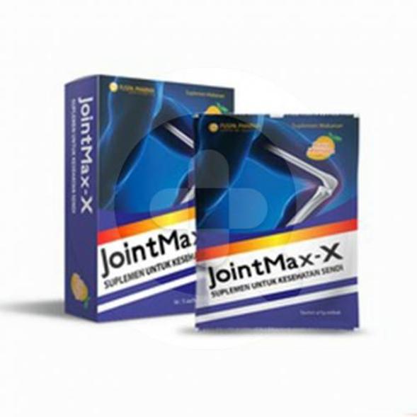 Jointmax-X sachet adalah suplemen untuk membantu memelihara kesehatan persendian.