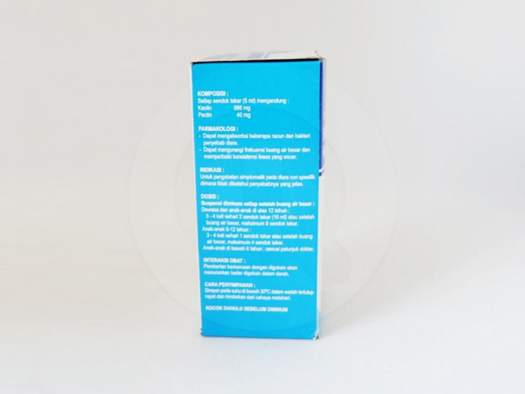 Kanina suspensi 60 ml adalah obat yang digunakan untuk pengobatan diare non spesifik.