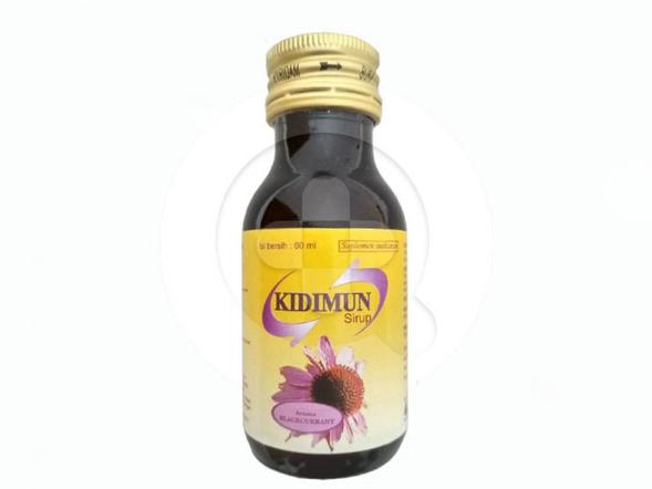 Kidimun sirup merupakan suplemen untuk memelihara daya tahan tubuh.