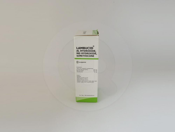 Lambucid suspensi adalah obat untuk mengatasi peningkatan asam lambung.