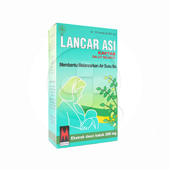 Lancar Asi kaplet adalah obat untuk membantu melancarkan ASI.