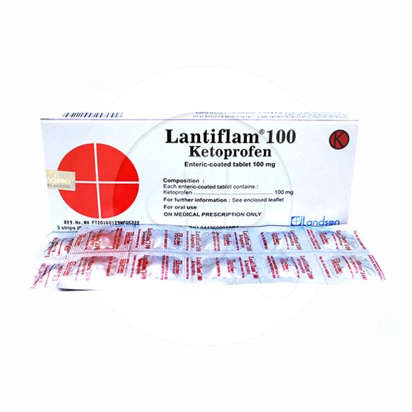 Lantiflam tablet adalah obat untuk meredakan nyeri dan peradangan seperti pada peradangan sendi.