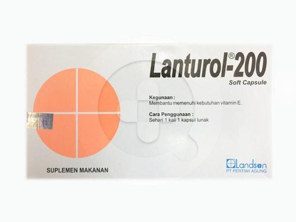 Lanturol kapsul digunakan untuk terapi pendukung pada penyakit kardiovaskuler dan rasa lesu.