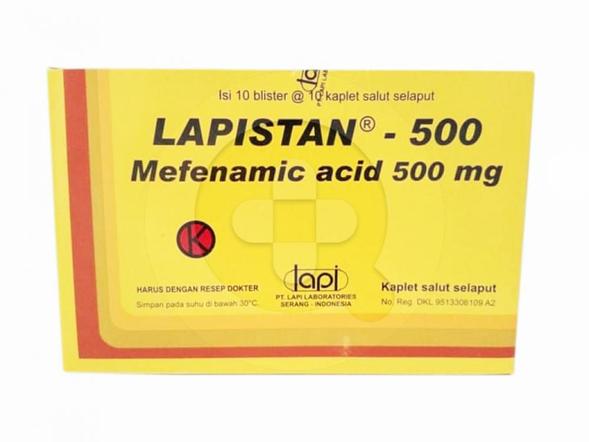 Lapistan kaplet adalah obat untuk meringankan rasa nyeri dan mengatasi demam.