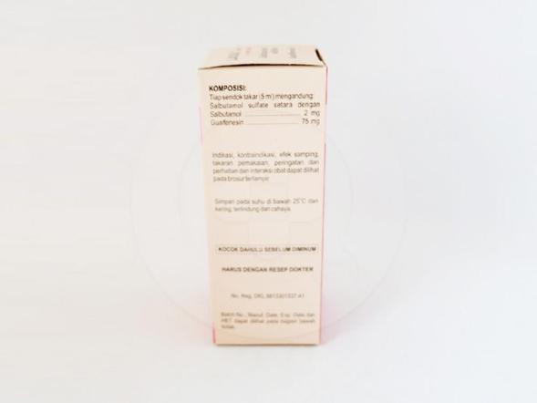 Lasal ekspektoran sirup 100 ml obat yang digunakan untuk mengobati dan mencegah bronkospasme pada penderita asma dan penyakit paru-paru.
