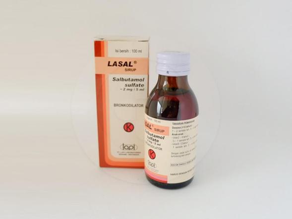 Lasal sirup adalah obat untuk mengatasi asma dengan memperbaiki saluran pernapasan, peradangan bronkus (bronkitis kronis), dan kerusakan pada kantong udara atau alveolus (emfisema).