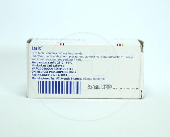 Lasix digunakan untuk mengobati pembengkakan jantung, ginjal dan hati