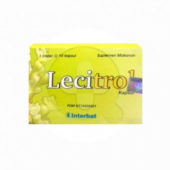 Lecitrol kapsul digunakan untuk memelihara kesehatan jantung.