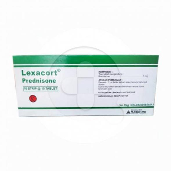 Lexacort tablet adalah obat untuk mengatasi alergi dan peradangan serta menekan sistem kekebalan.