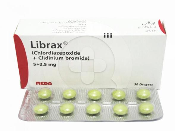 Librax tablet adalah kombinasi obat untuk terapi tambahan pada gangguan saluran pencernaan