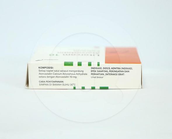 Litorcom merupakan obat untuk menurunkan kadar kolesterol