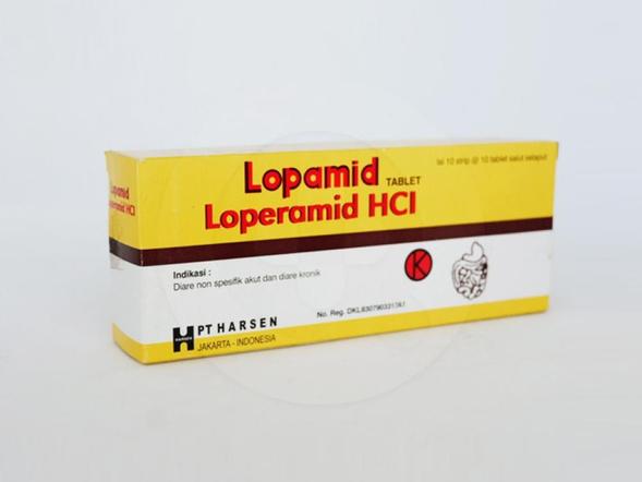 Lopamid tablet adalah obat untuk mengatasi diare baik akut ataupun diare kronis.