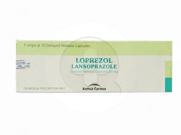 Loprezol kapsul digunakan untuk menurunkan produksi asam lambung.