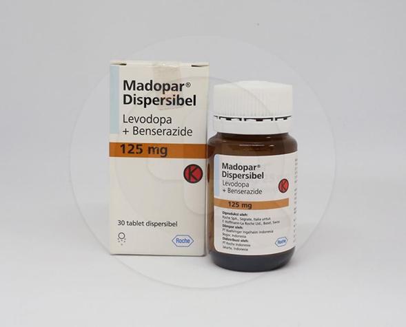 Madopar tablet 125 mg