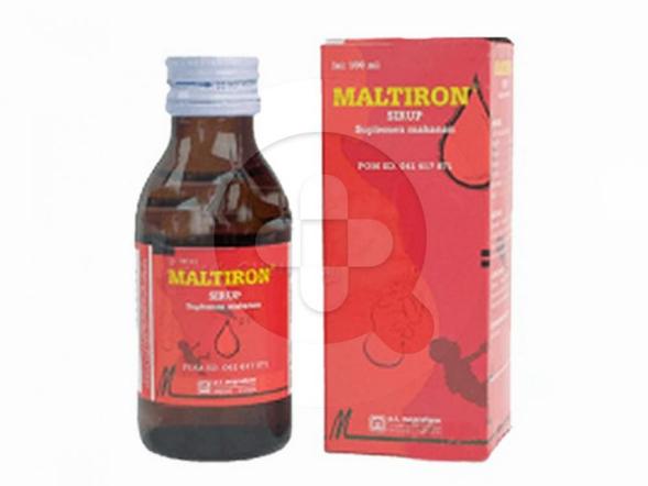 Maltiron sirup merupakan suplemen untuk memenuhi kebutuhan vitamin B dan zat besi.
