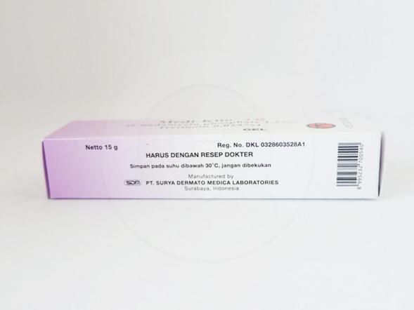 Medi-klin TR gel 15 g adalah obat yang berguna untuk pengobatan acne vulgaris yang disertai lesi inflamasi serta komedo tertutup dan terbuka.