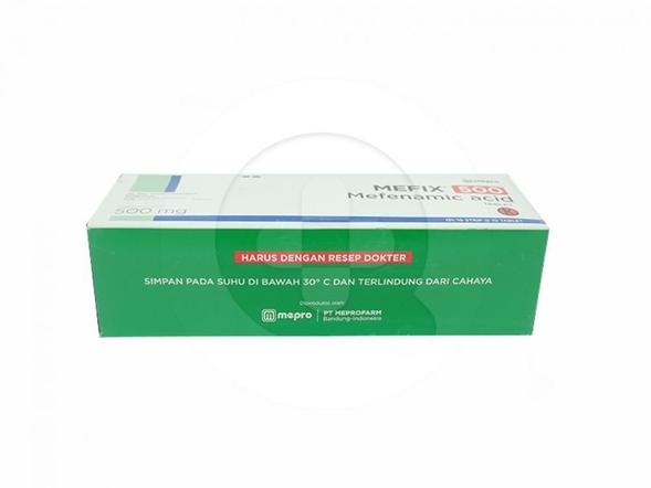 Mefix tablet adalah obat untuk meringankan rasa nyeri ringan hingga sedang.