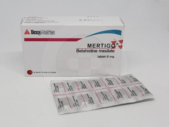 Mertigo tablet adalah obat untuk mengobati vertigo, gangguan keseimbangan, dan sirkulasi darah