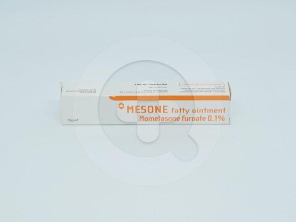 Mesone 0,1% salep 10 g untuk meringankan manifestasi inflamasi dan pruritus dari dermatosis.