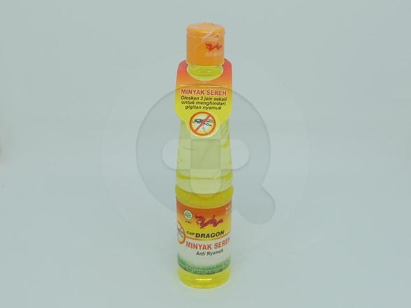 Minyak Sereh Cap Dragon 100 ml digunakan untuk membantu mengurangi pegal-pegal, otot kaku dan anti gigitan nyamuk atau serangga.